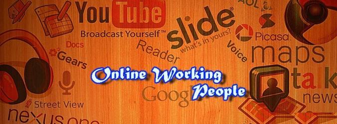 Online Working People